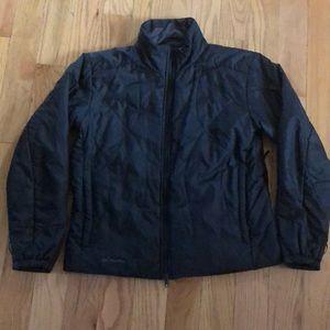 Columbia large coat black winter jacket women's